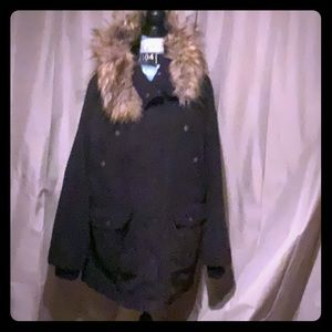 a.n.a a new approach winter down hooded faux fur